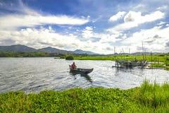 Fisherman Royalty Free Stock Photography