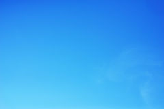 Blue sky. Fresh air, Blue sky  in backgrounds Royalty Free Stock Photos