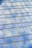 Blue Sky Glass Building Reflection Stock Images
