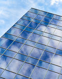 Blue Sky Glass Building Reflection Royalty Free Stock Photo