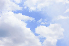 Blue sky. In a good day Royalty Free Stock Photo