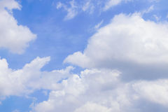 Blue sky. In a good day Royalty Free Stock Images