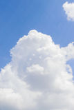 Blue sky. In a good day Royalty Free Stock Photography
