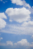 Blue sky. In a good day Royalty Free Stock Photos