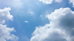 Blue Sky. Clouds Stock Photo