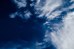 Blue sky have clouded Stock Photography
