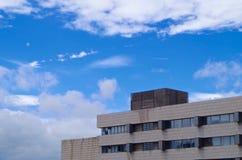 Blue sky. The blue sky after an heavy rain is very beautiful Stock Photos
