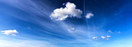 Blue sky high resolution Royalty Free Stock Images