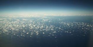 Blue sky on the horizon Royalty Free Stock Photography