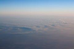 Blue sky horizon line Stock Photo