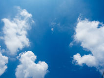 The blue sky. Royalty Free Stock Photos