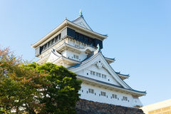 Blue sky and Kokura Castle Royalty Free Stock Photography