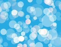 Blue sky  light bokeh background texture illustration eps 10. Abstract blue sky  light bokeh background texture illustration eps 10 Royalty Free Stock Photo