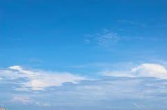 Blue sky. With littel cloud Stock Photos