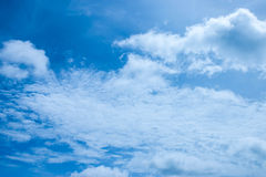Blue sky. Is lonely feeling Stock Photo