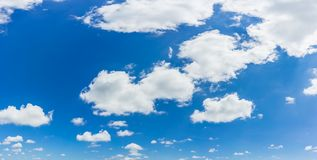 Blue sky natural background. stock photo
