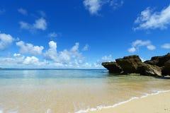 Blue sky of Okinawa Stock Photo