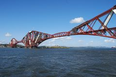 Blue Sky Over Forth Royalty Free Stock Image