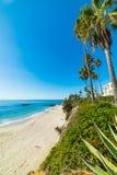 Blue sky over Laguna Beach Stock Image