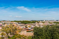 Blue sky over Rome Royalty Free Stock Images