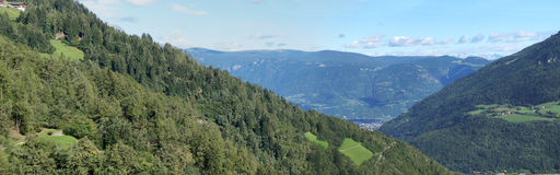 Blue sky over South Tyrol Stock Photography