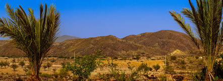 Blue sky pano Royalty Free Stock Photography