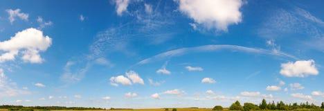 Blue sky panorama Stock Photos