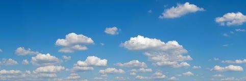 Blue sky panorama Royalty Free Stock Photos