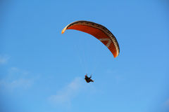 Blue Sky Parapente Royalty Free Stock Images