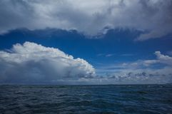 Blue sky at Pattaya, Chon buri. Blue sky at Pattaya Chon buri Royalty Free Stock Photos