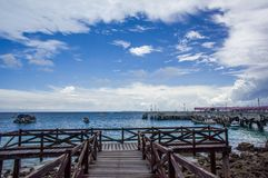 Blue sky at Pattaya, Chon buri Royalty Free Stock Photography