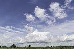 Blue sky photography Royalty Free Stock Photos