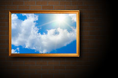 Blue sky picture Royalty Free Stock Photos