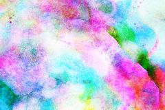 Blue, Sky, Pink, Watercolor Paint stock photography