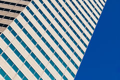 Blue sky reflecting in the windows Royalty Free Stock Photography