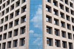 Blue sky reflection Stock Photo