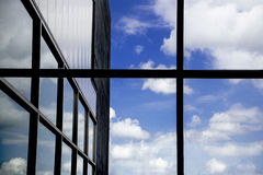 Blue Sky Reflection Royalty Free Stock Images