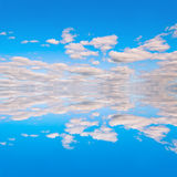Blue sky reflextion 02 Royalty Free Stock Photo
