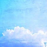 Blue sky retro style background Royalty Free Stock Photo