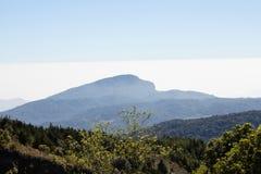 Blue sky Scenic Landscape Appalachian Mountains Stock Photo
