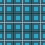 Blue sky Scottish pattern. Illustration for print Royalty Free Stock Photography