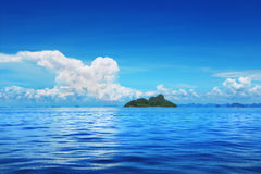 Blue sky and sea Stock Image