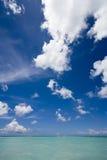 Blue sky and sea Royalty Free Stock Photo