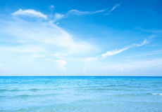 Blue sky and sea Royalty Free Stock Photos
