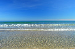 A Blue Sky And Sea Background Royalty Free Stock Images