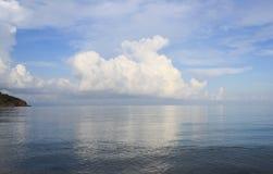 Blue Sky and Sea. Blue sky and calm sea Stock Image