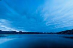 Blue sky & sea Royalty Free Stock Photo