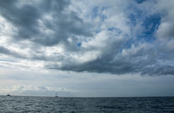 Blue sky and sea Royalty Free Stock Image