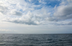 Blue sky and sea Royalty Free Stock Photography