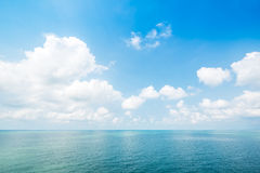 Blue sky and sea Royalty Free Stock Photos